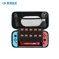 Carrying Case For Nintendo Switch Eva Hard Protective Bag Pouch Eva Hard Shield Protective Carrying Case With Hand Wrist Strap And Double Zipper For Nintendo Switch