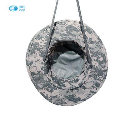 Cotton Bucket Hat Bucket Boonie Hunting Fishing Outdoor Cap Wide Brim Military Unisex Sun Camo