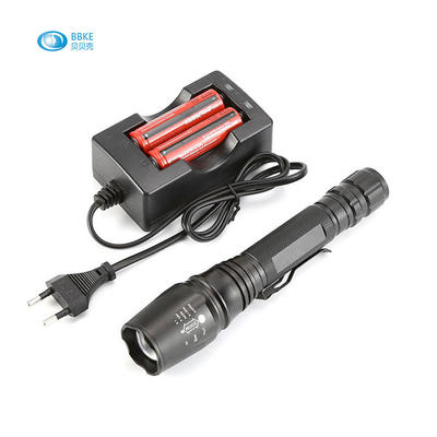 Hot Sale China Made Japan Quality 300M Range Torch Flash Light Rechargeable Led Flashlight