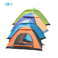 3-4 Person Outdoor Fully Automatic Camping Tent Hand Throwing Speed Open Leisure Tent