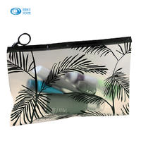 Factory Selling Directly Custom Plastic cosmetic Bag, Most Selling Products Bling Zip Lock Bags Cosmetic